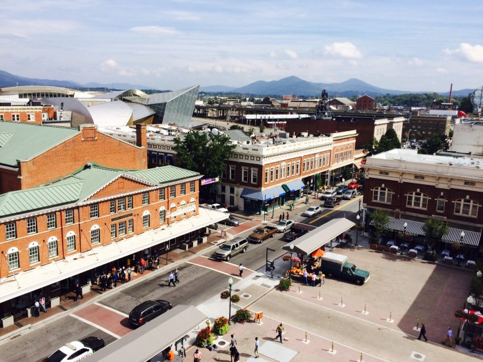 Roanoke from City in the Square