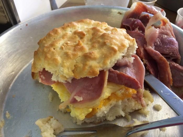 Biscuit Head biscuit sandwich